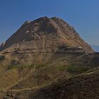 Sofeh Mountains - Esfahan - Iran - Panorama by Bryan Freeman