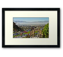 Shiraz Lay Before Me - Iran Framed Print