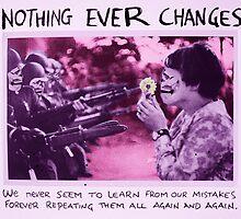 war is stupid by Loui  Jover