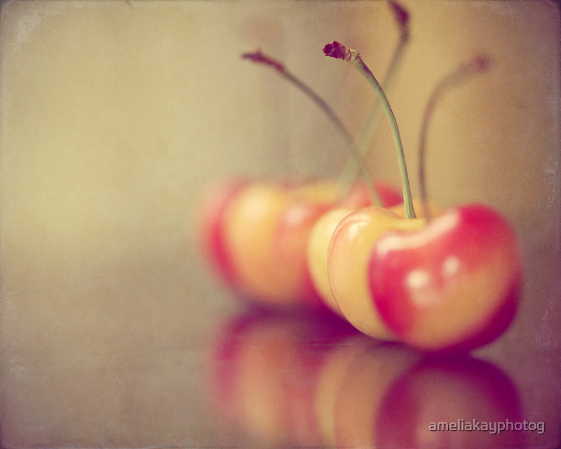 Sweet Cherries  by ameliakayphotog