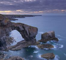 Green Bridge Of Wales by Mark Robson