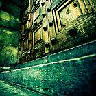 Spooky wooden door by Sharonroseart