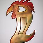 Wood Rooster by levitate