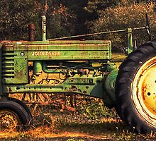 John Deere, retired by Mick Burkey