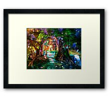 The Butterfly Ball Framed Print