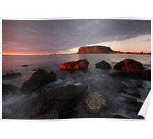 Sunrise over Stanley Poster