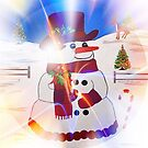 A Snowman's Christmas #1 ~ Happy Holidays by Madeline M  Allen