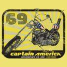Captain America Chopper by superiorgraphix