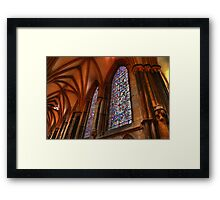 Higher Faith Framed Print
