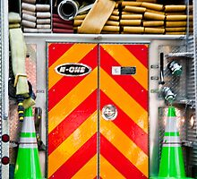 Fireman's View by phil decocco