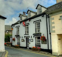 The Red Lion,Hawkshead by VoluntaryRanger
