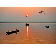 The Golden Morning Photographic Print