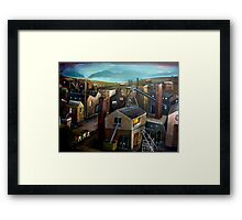 Forces of Production Framed Print