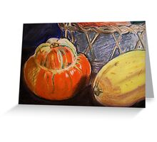 Squash - card Greeting Card