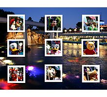 Fun Memories Of Disneyland 2010 Photographic Print