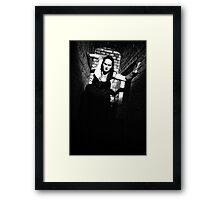 She is comming! Framed Print