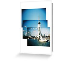 Spinnaker Tower montage Greeting Card