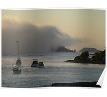 And The Fog Rolls In. Poster