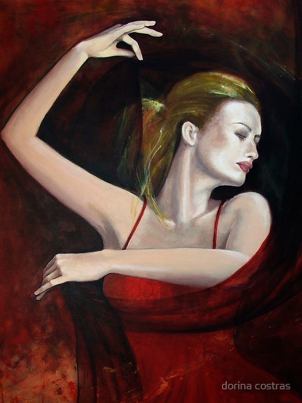 """""""The last dance..."""" detail by dorina costras"""