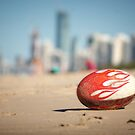 Gold Coast Genuine Dragon Egg - Surfers Beach Football  Vicki Ferrari Photography by Vicki Ferrari