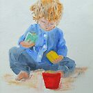 Sand Play by Susan Brown