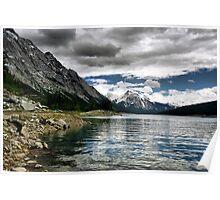 Medicine Lake, Jasper NP Poster