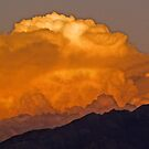 Monsoon at sunset by Linda Sparks