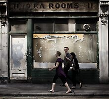 tea rooms by Tony Day