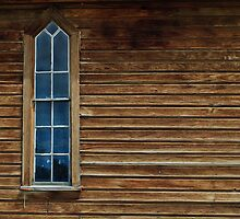 church window by Phillip M. Burrow