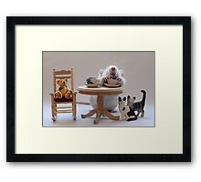 Another cup of tea :) Framed Print