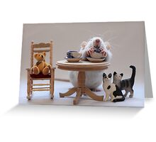 Another cup of tea :) Greeting Card