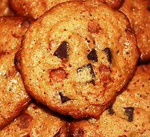 Cinnamon Chip Chocolate Chunk Cookies by BabyBundtCake