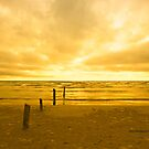 Sunset on Sauble Beach by Yannik Hay