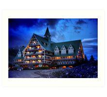 Prince of Wales Hotel, Alberta Art Print