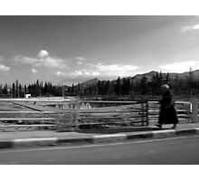 one man's walk to freedom Photographic Print
