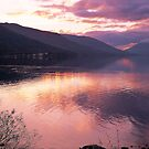 Loch Earn Sunset by derekwallace