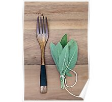 Fork and Sage Poster
