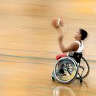 Wheelchair Basketballer by Andrew Davoll