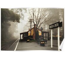 Menzies Creek Station Poster