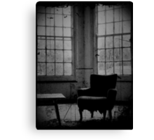 Alone ~ West Park Asylum Canvas Print