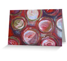 Red Votives Greeting Card