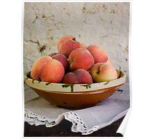 Sun Kissed Peaches Poster