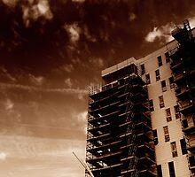 Titanic Quarter Apartments construction, Belfast by Chris Millar