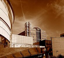 Waterfront Hall and BT Tower, Belfast by Chris Millar