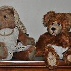 Teddy bear pair by mltrue
