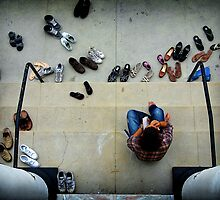 Man vs. Shoes by Daniel  Rarela