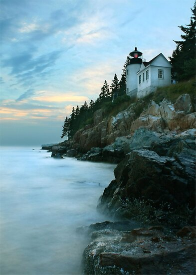 Bass Harbor Lighthouse by Lori Deiter
