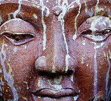 Weathered Budha by phil decocco