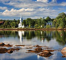 Early Morning at Mahone Bay by Amanda White