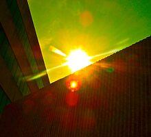 Texas Sun, Texas Buildings by Dr. Charles Taylor